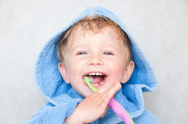 Child brushing teeth | Darwin Dentist